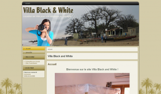 Location Villa Black and White